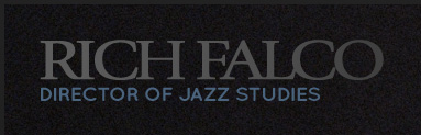rich falco director of jazz studies